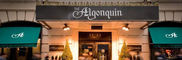 Aniversário casamento Algonquin New York