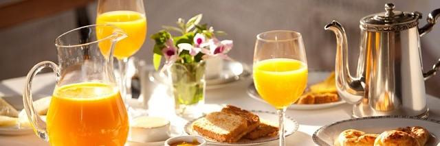 Café da manhã na Fazenda Catuçaba