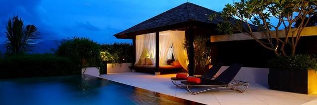 Piscina do The Pavilions em Phuket