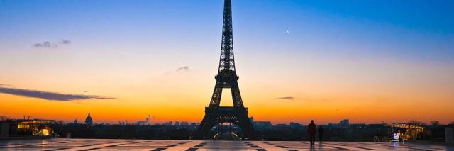 A vista da torre mais famosa do mundo!