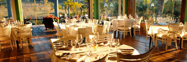 Restaurante do Lake Villas em Amparo