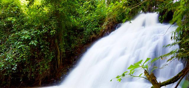 Cachoeira na Serra da Bocaina