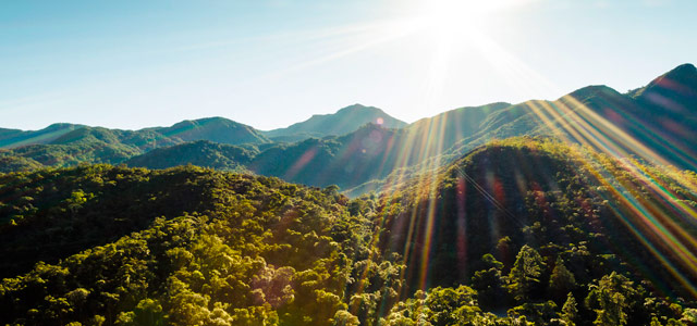 Vista panorâmica do Parque Nacional do Itatiaia