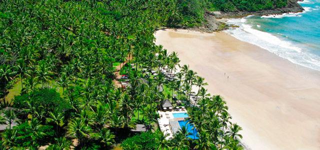 Vista aérea do Itacaré Eco Resort