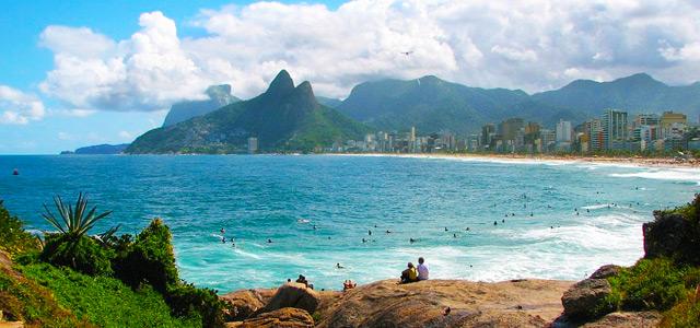Praia de Ipanema. Uma das mais belas praias do Rio de Janeiro