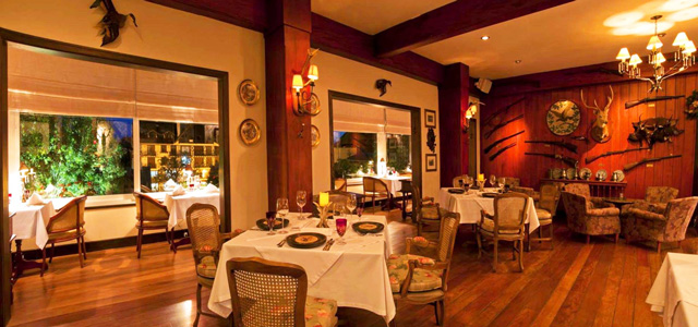 La Caceria. Restaurante especializado em carnes nobres