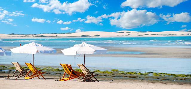 Praias de Jeri, para descanso e aventuras