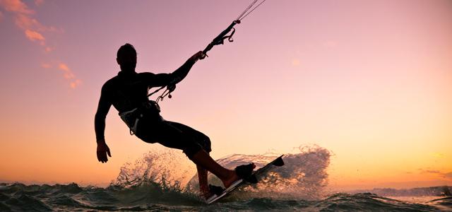 Kitesurf: um dos esportes apreciados na Praia do Preá
