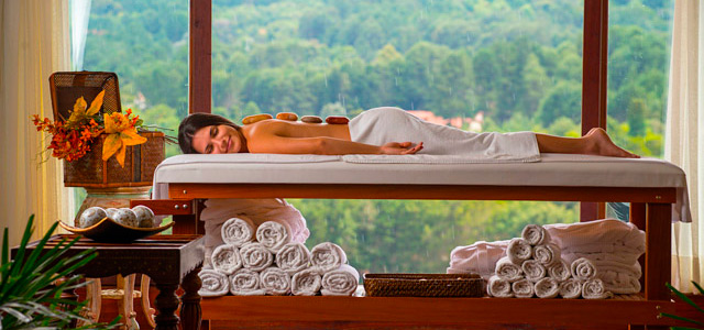 Massagens, terapias, banhos de imersão...é o paraíso na terra!