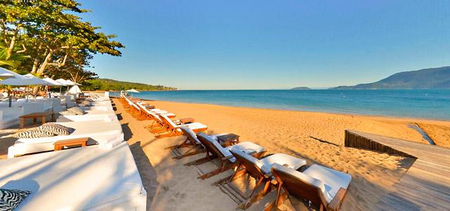 Praia do Curral já é mais movimentada e onde está o DPNY Beach Club
