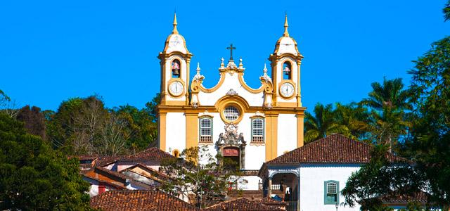Cidades históricas de Minas Gerais, na cidade de Tiradentes