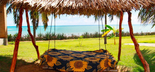 A praia de São José serve de cenário perfeito para os mais apaixonados