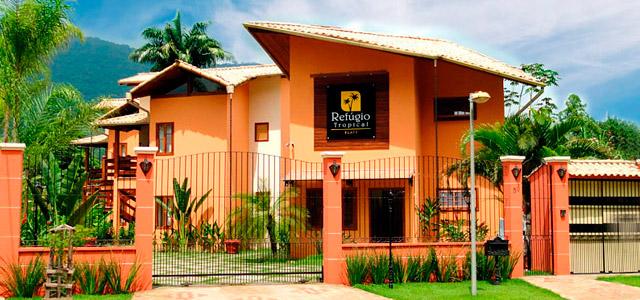 Refúgio Tropical: lofts espaçosos garantem o 7º lugar entre 214 pousadas em Paraty