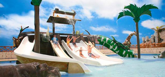 O pacote Cancun All Inclusive também é destinado às famílias com crianças. Não falta lazer para os pequenos