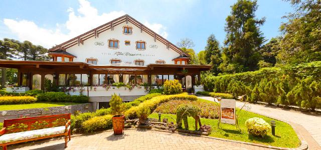 Hotel Ritta Hoppner: um dos mais luxuosos da cidade gaúcha. O 1º entre 33 hotéis em Gramado