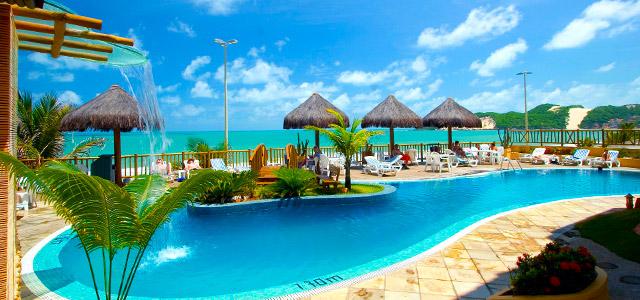 Visual Praia Hotel: estada com vista para a praia de Ponta Negra, drink de boas vindas e muita, mas muita diversão garantida para o feriado do dia primeiro de maio