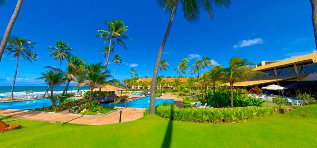 Catussaba Resort: para mamãe relaxar com os pés na areia das praias da Bahia