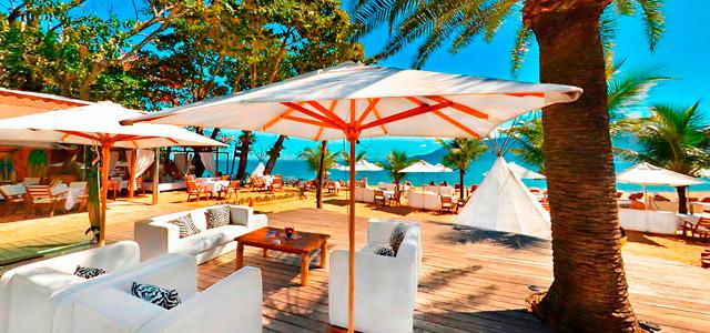 O DPNY Beach Club abriga um dos melhores restaurantes em Ilhabela