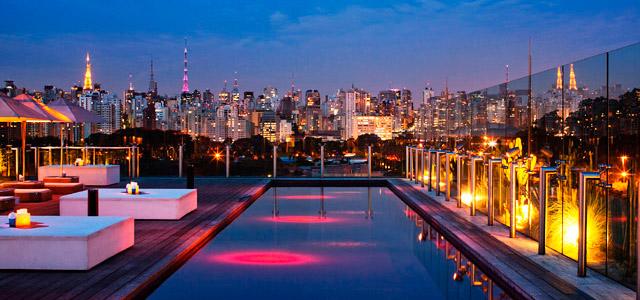 Hotel Unique: arquitetura imponente e moderna colocam-no entre os hotéis em São Paulo mais luxuosos