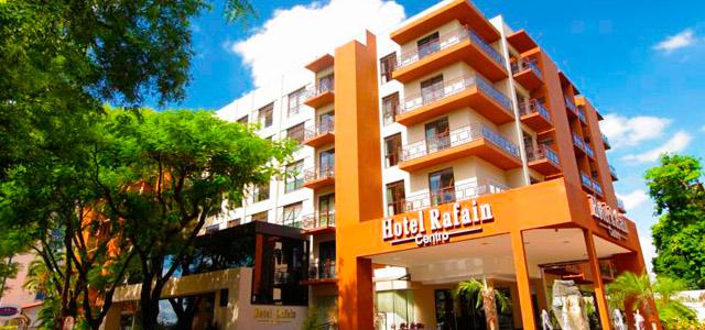 Hotel Rafain Centro: hotel em Foz do Iguaçu possui atendimento cortês e equipe bem treinada para tornar sua estada inesquecível