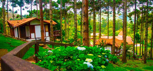Pousada Vida Verde: situado a 1450 metros de altitude, entre as montanhas da cidade de Gonçalves, essa pousada garante contato permanente com a natureza