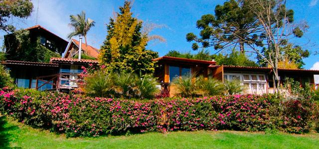 A pousada Solar de Araucária oferece muito conforto durante o inverno no Brasil. Não perca essa oferta!