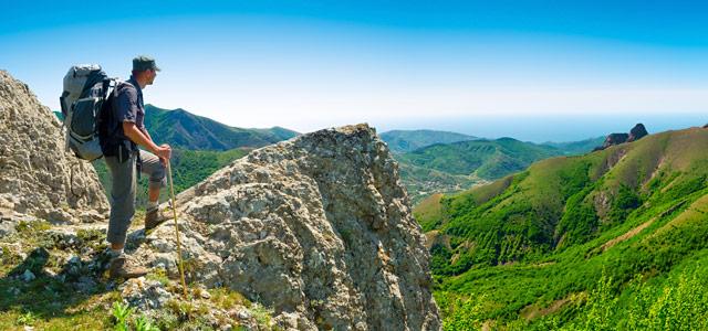A prática de trekking em Gonçalves é incentivado como um dos melhores esportes de aventura na região