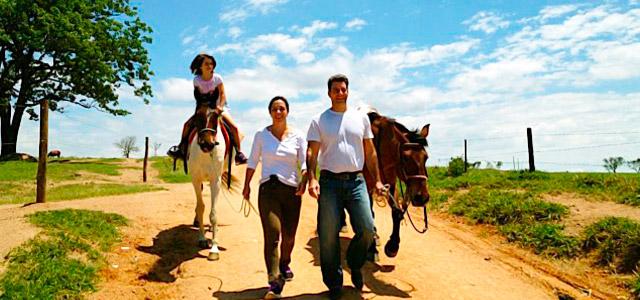 Cavalgada, cachoeira, caminhada, espaço infantil...nesse hotel fazenda em Itu tudo pode acontecer!