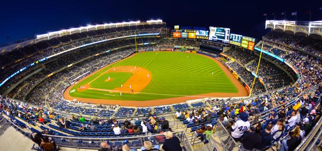 estádio do New York Ynkees, onde acontecem jogos tradicionais de beisebol