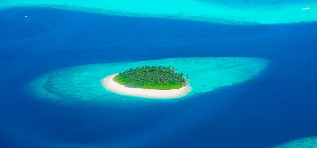 Os cenários das Ilhas Maldivas são inigualáveis!