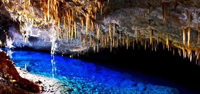 Gruta do Lago Azul - Pontos turísticos do Brasil