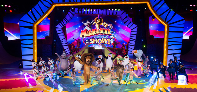 Show Madagascar - Beto Carrero World