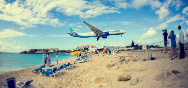 Maho Beach - Praias do Caribe
