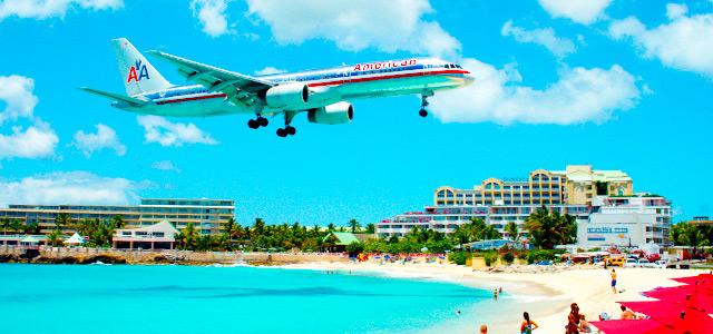 Maho Bay, em St Maarten!