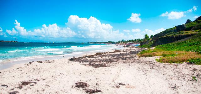 Orient Beach: St Maarten.