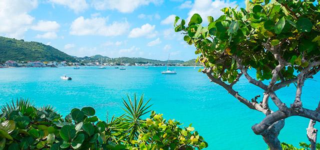 Grand Case: St Maarten.