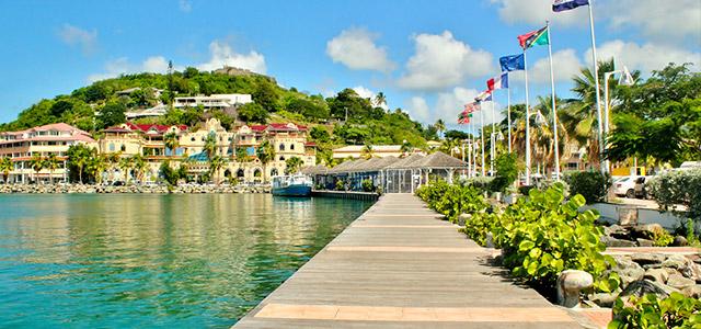 Marigot: St Maarten.