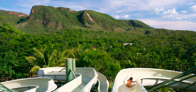 Toboágua no Rio Quente Resorts, Caldas Novas