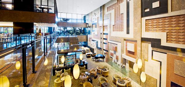 A maravilhosa infraestrutura do Hotel Gran Marquise