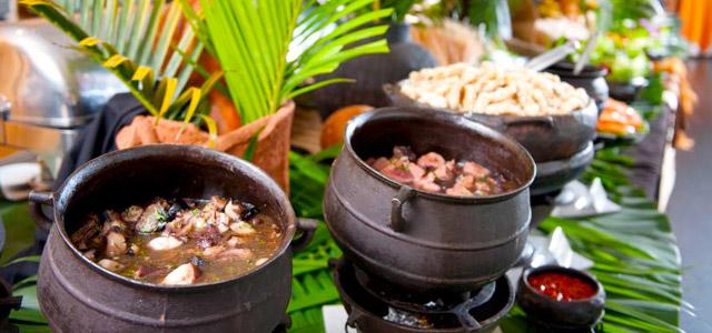 A melhor gastronomia está no Hotel Senac Ilha do Boi