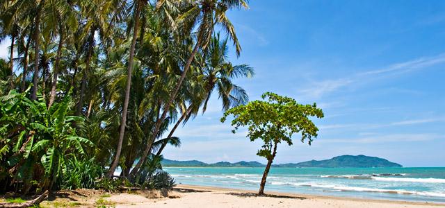 Praia de Tamarindo, na Costa Rica
