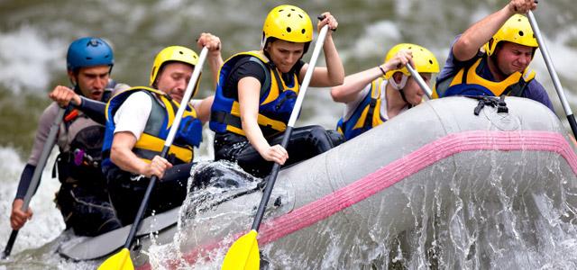 Rafting na Costa Rica