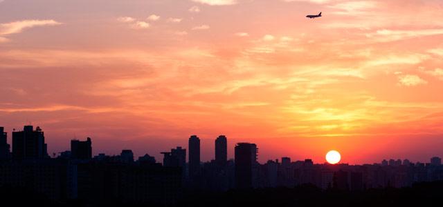 São Paulo - Por do Sol