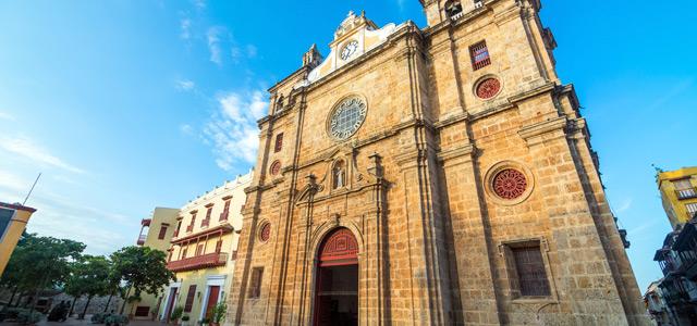 Igreja San Pedro Claver, em Cartagena