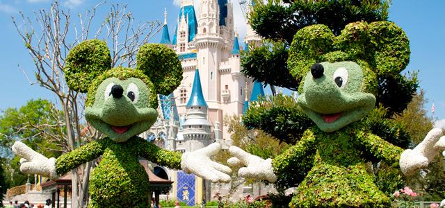 Mickey e Minnie - Magic Kingdom