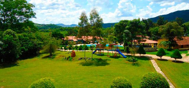 Natureza por todas as partes no Hotel Fazenda Pontal de Tiradentes