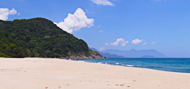 Praia Brava em São Sebastião