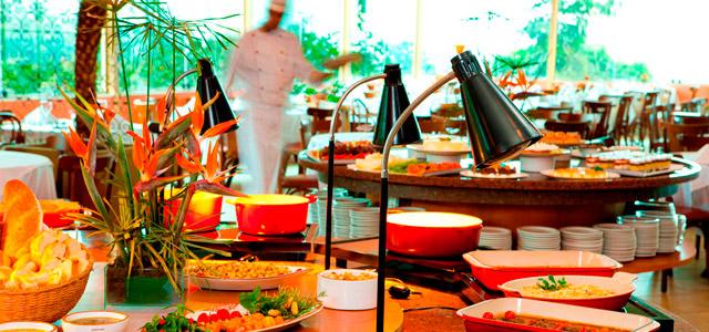 La Piazza, o restaurante do Hotel Villa Rossa que vai te encantar