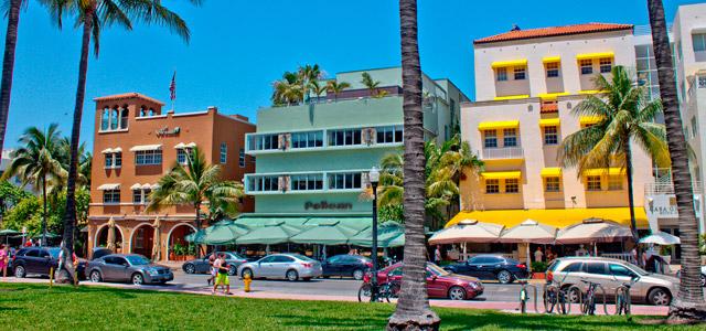Distrito Art Déco, em Miami