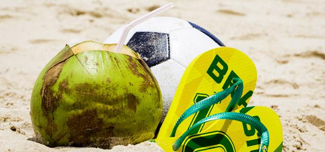 Praia das Palmeiras em Caraguá